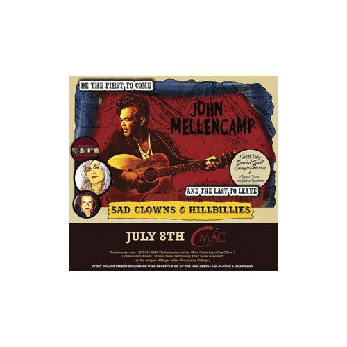 John Mellencamp, Emmylou Harris & Carlene Carter at Wolf Trap