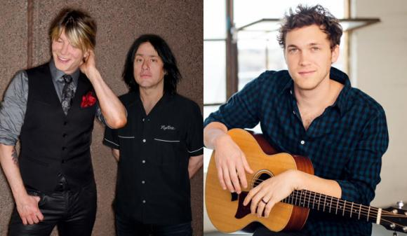 Goo Goo Dolls & Phillip Phillips at Wolf Trap