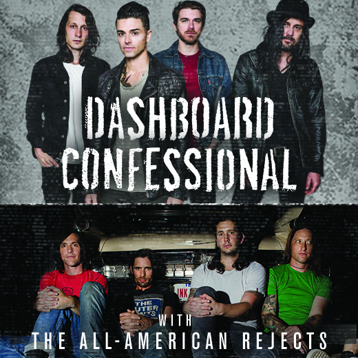 Dashboard Confessional & The All American Rejects at Wolf Trap