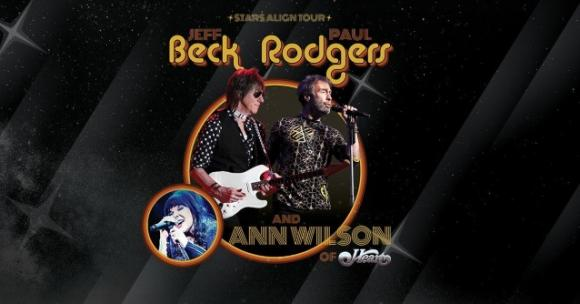 Jeff Beck & Ann Wilson at Wolf Trap