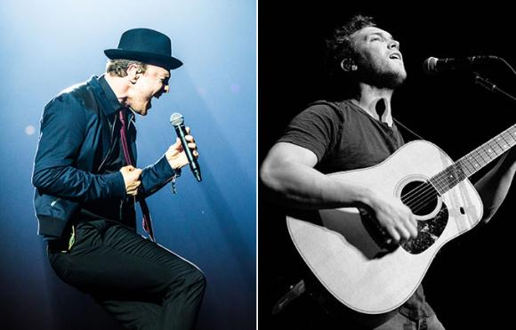 Gavin Degraw & Phillip Phillips at Wolf Trap