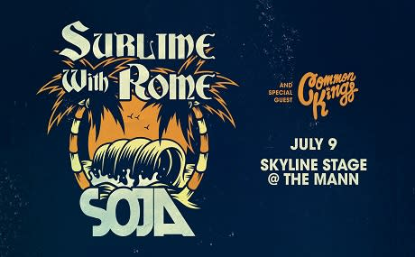 Soja & Sublime with Rome at Wolf Trap