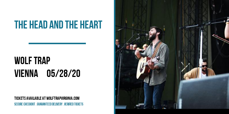 The Head and the Heart at Wolf Trap