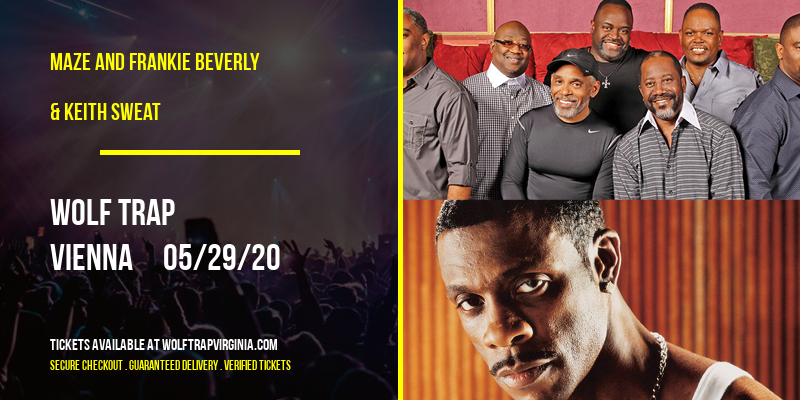 Maze and Frankie Beverly & Keith Sweat at Wolf Trap