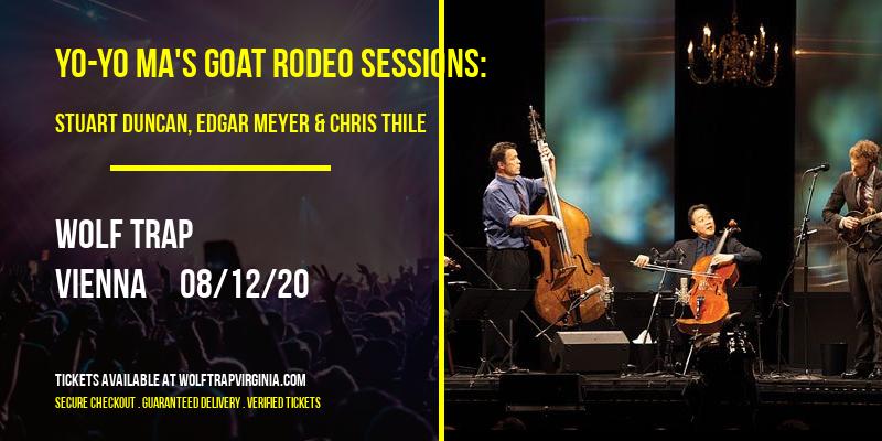 Yo-Yo Ma's Goat Rodeo Sessions: Stuart Duncan, Edgar Meyer & Chris Thile at Wolf Trap