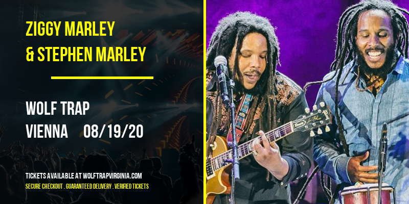 Ziggy Marley & Stephen Marley at Wolf Trap