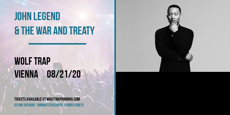 John Legend & The War and Treaty at Wolf Trap