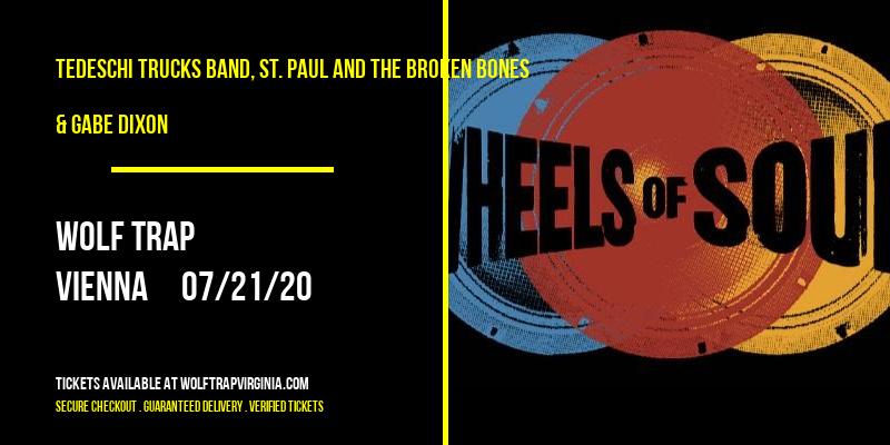 Tedeschi Trucks Band, St. Paul and The Broken Bones & Gabe Dixon at Wolf Trap