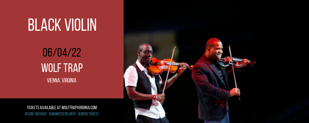 Black Violin at Wolf Trap