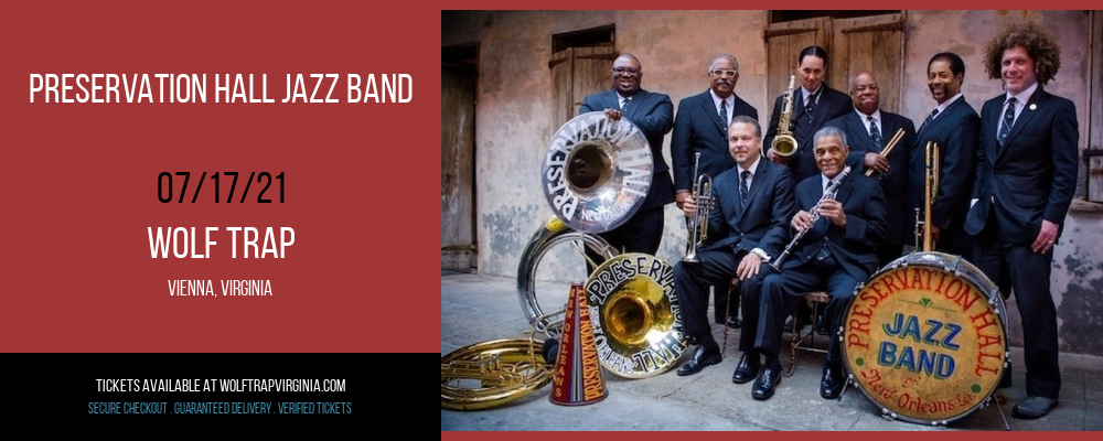 Preservation Hall Jazz Band at Wolf Trap