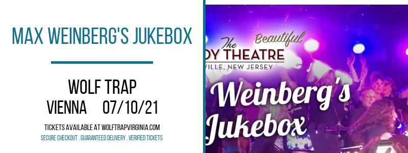 Max Weinberg's Jukebox at Wolf Trap