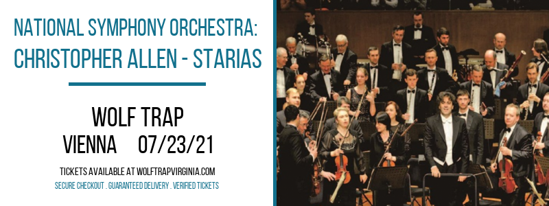 National Symphony Orchestra: Christopher Allen - STARias at Wolf Trap