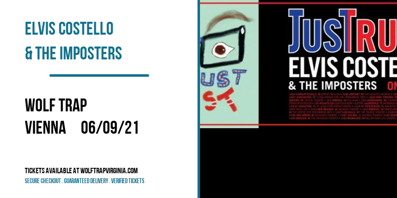 Elvis Costello & The Imposters [POSTPONED] at Wolf Trap