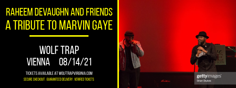 Raheem DeVaughn and Friends - A Tribute To Marvin Gaye at Wolf Trap